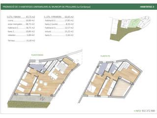 Construcción de viviendas unifamiliares en entorno rural con vistas de Xmas Arquitectura e Interiorismo para reformas y nueva construcción en Barcelona Rural