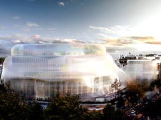 Filarmónica de Munich, Museo y Biblioteca Museos de estilo moderno de GilBartolome Architects Moderno