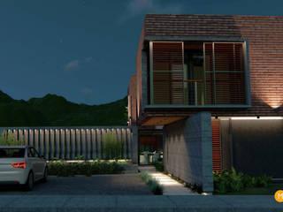 Casa Diambra Garajes modernos de Mutuo Arquitectura Moderno