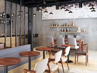 Restaurant Project Vivible Dining roomChairs & benches Wood Wood effect