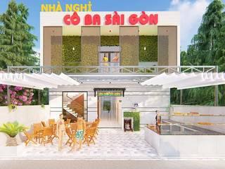 Nhà Nghỉ Cô Ba Sài Gòn tại Lagi Bình Thuận bởi Công Ty TNHH TK XD Ý Tưởng Hộp Hiện đại