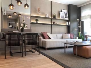 MONOBLOK DESIGN & INTERIORS – Mesa Cadde Örnek Daire 2: modern tarz , Modern