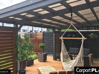 Carport Planet 花園溫室與大帳棚 木頭