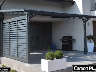Carport Planet Balcones, porches y terrazasMobiliario