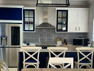 CS DESIGN Built-in kitchens MDF Blue