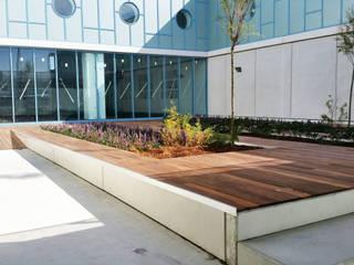 Jardines de estilo moderno de LANDARK Paisajismo Moderno