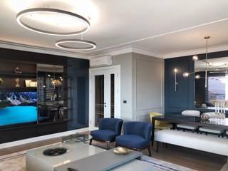 MONOBLOK DESIGN & INTERIORS – H.A Evi |Deniz İstanbul: modern tarz , Modern