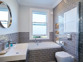 SASH WINDOWS Hugo Carter - SILENT WINDOWS Modern Bathroom