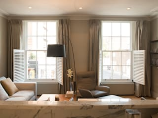 SASH WINDOWS Hugo Carter - SILENT WINDOWS Modern Living Room
