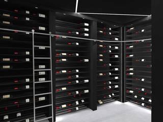 Minimalist wine cellar by Volo Vinis Minimalist