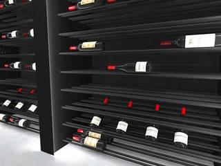 Bodegas de estilo minimalista de Volo Vinis Minimalista