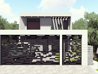 Casa HUASCA Casas modernas de AS Arquitectos Moderno