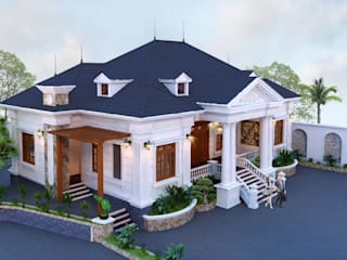 Thiết kế biệt thự đẹp tại Cần Thơ bởi Công ty Kiến Trúc Xây Dựng Tâm Tín Nghĩa Địa Trung Hải