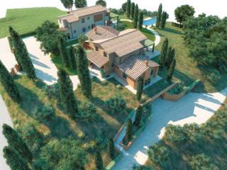 Riqualificazione del paesaggio storico agricolo a San Miniato (PISA) faserem srl Villa