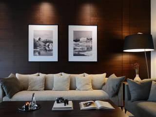E.K Rezidans | Emaar Square Residences Modern Oturma Odası MONOBLOK DESIGN & INTERIORS Modern