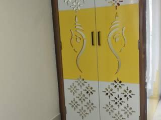 Villa Interiors @ Praneeth APR Pranav Antilia, Bachupally, Hyderabad Classic style living room by SP Interiors Classic