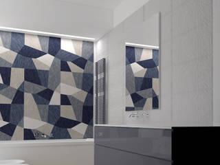 appartamento a sesto Bagno moderno di studio di progettazione architetto caterina martini Moderno