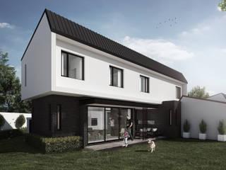 Epping Road - Zimbabwe Modern houses by Urban Habitat Architects Modern