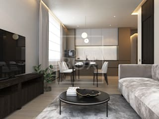 Современный MILAN Гостиная в стиле минимализм от HouseBox Минимализм