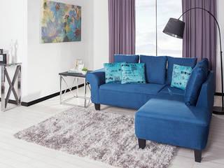 ¿Por qué la sala modular Liberty es tu mejor opción? Salones modernos de Muebles Dico Moderno