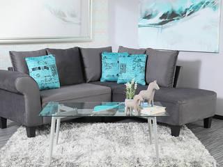 Salas de estilo moderno de Muebles Dico Moderno