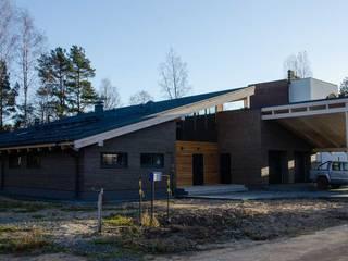 Maisons scandinaves par АРХ студия Антона Никитина Scandinave
