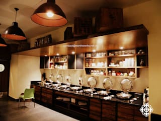 Tigerland Resort,  Club Mahindra, Kanha: minimalist  by Earthworks,Minimalist