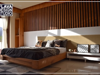 B E D R O O M Modern style bedroom by Flava Design Studio Modern