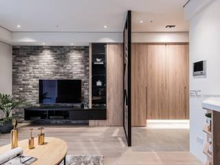 八德羅宅: 斯堪的納維亞  by 艾城室內裝修設計工作室, 北歐風