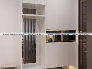 Thiết kế thi công nội thất chung cư - Green pearl Minh khai bởi Thiết kế thi công nội thất - Nhà Việt Furniture Hiện đại