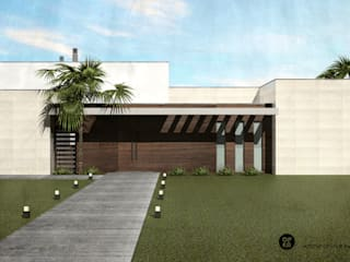 Country style house by ATELIER OPEN ® - Arquitetura e Engenharia Country