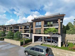 Çalık Konsept Mimarlık Villas Brown