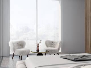 Villa Modern Bedroom by Anastasia Schuler Modern