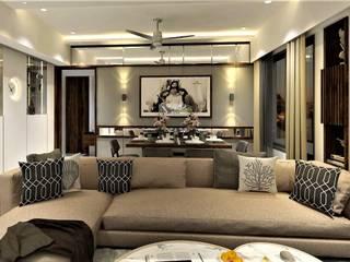 Interior Project In Pune: rustic  by Arihant Design Studio,Rustic