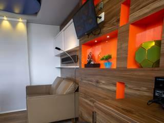 BAYMACK 1 Salas modernas de AQ3 COL SAS Moderno