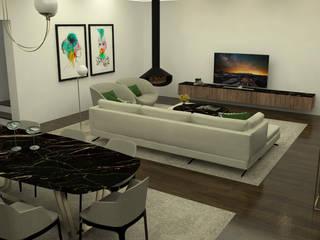 オリジナルデザインの ダイニング の Casactiva Interiores オリジナル
