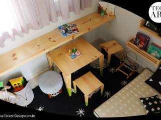 Welcome 74 - TECEART DESIGN TECEART Quarto de criançasEscrivaninha e cadeiras