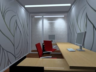 Modern Study Room and Home Office by Studio Luxes Modern