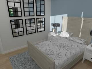 Duplex Development Design, 3D Render and VR by RooMoo Modern