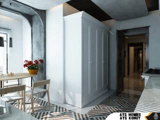 AYS Konut Tasarımı Kut İç Mimarlık MutfakMasa & Oturma Grupları Ahşap Ahşap rengi