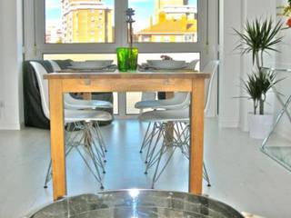 Interiorismo | Salón y Comedor de Ana Salomé Branco Ecléctico