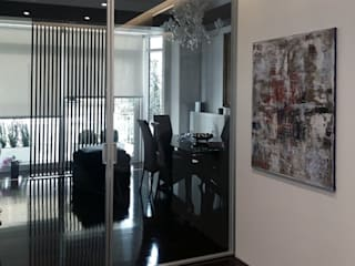 Moderner Flur, Diele & Treppenhaus von Altro_Studio Modern