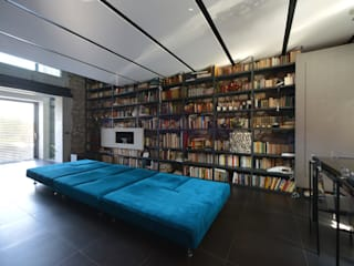 Altro_Studio Minimalist living room