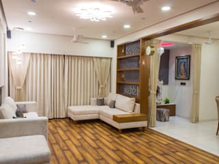 4 BHK Flat: asian  by Marca Design,Asian