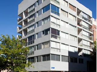 Edificio Propiedad H Estudios y despachos minimalistas de ATLANTICO ARQS Minimalista