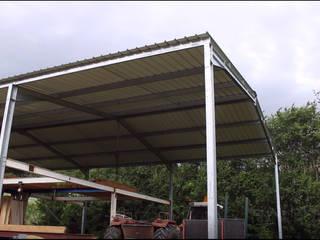 Abri de stockage métallique en kit Direct-batiment Garage / Hangar Métal Métallisé / Argent