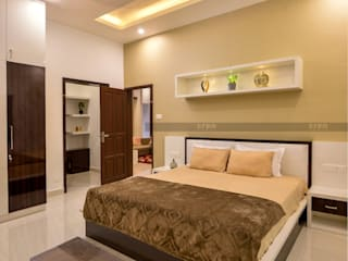 Asian style bedroom by CreoHomes Pvt Ltd Asian