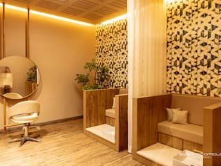 Susana Camelo Steam Bath Chipboard Wood effect