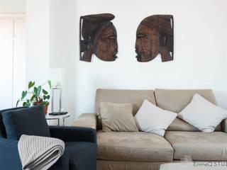 Casa Flaminio Soggiorno moderno di EmmeQ STUDIO Moderno