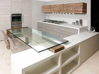 Soluzione a costo contenuto Cucina moderna di CLARE studio di architettura Moderno